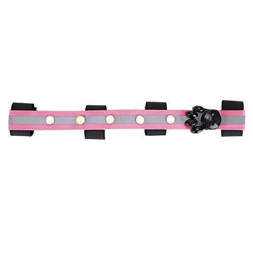 Parluna Pferdesportbedarf Pink Horse Heads Light Belt, Horse LED Light Strip, für Weihnachts- oder Halloween-Dekorationen Bequem, um nachts Haustiere zu Finden