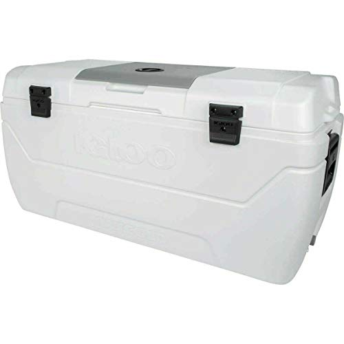 Photo of IGLOO MaxCold Large 165 Quart 156 Litre 280 Can Cool Box Ice Cooler 7 Days Camping Party