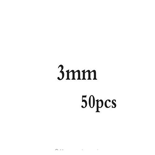 TWWSA Cuentas espaciadoras 2-5mm 925 Cuentas Redondas de Plata esterlina Perlas espaciadoras Hallazgos de Joyas Accesorios Accesorios Plata de Placa para Pulsera y CollarJejon Hecho a Mano