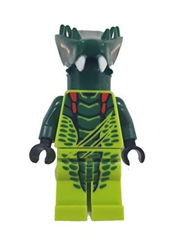 LEGO Ninjago - Minifigur LIZARU - Ninja-Kämpfer aus Set 9557