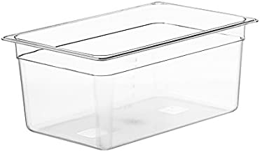 LIPAVI C15 Sous Vide Container 18 quarts-NOT INCLUDED: L15 Rack and Lid for Virtually Every Immersion Circulator Sold Separately, Crystal Clear, Transparent Polycarbonate