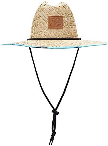 Quiksilver Men s Sun Protection Straw Lifeguard Hat Cabbage Outsider L XL product image