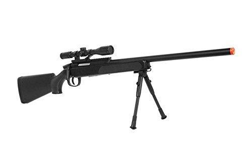 Cyma Tactical ZM51 415 FPS Bolt Action Airsoft Sniper Rifle with Scope & Bi-Pod