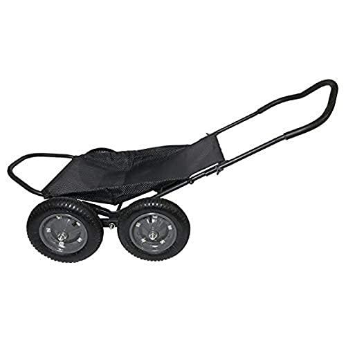 Hawk Crawler Deer and Multi Use Cart, Black, one Size (HWK-HA3420)
