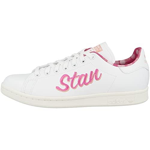 adidas Stan Smith, Zapatillas Deportivas Hombre, FTWR White Screaming Pink Off White, 41 1/3 EU