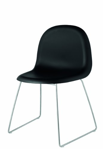Gubi 1 Stuhl Schwarz