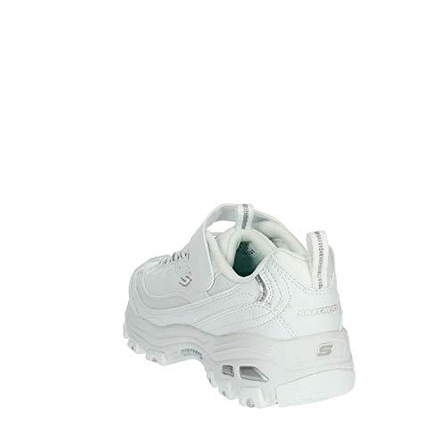 Zapatillas para niña, Color Blanco, Marca SKECHERS, Modelo Zapatillas para Niña SKECHERS D'LITES-IN The Clear Blanco