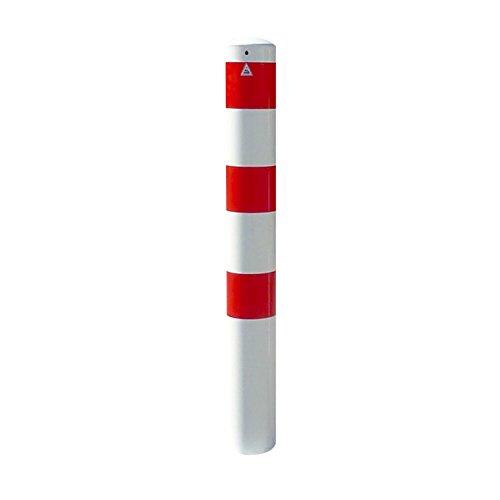 Absperrpfosten Poller Ø 152 mm herausnehmbar mit Bodenhülse, Länge: ca. 1500 mm - Gewicht: ca. 26 kg