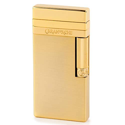 CARAN d'ACHE(カランダッシュ) ライター カランダッシュ40 フリント式 サテン仕上げ ゴールド CD40-4013