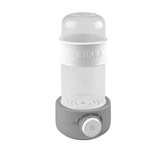 Béaba - Babymilk Fläschchenwärmer mit Dampf, grau