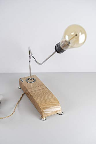 Exclusive table lamp Pride/&Joy Golden Nugget accent lamp home decor gift unique office lamps lights for home walnut designer wooden lighting