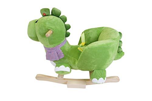 Knorrtoys 40481 – Schaukeltier Dino Olaf mit Sound - 5