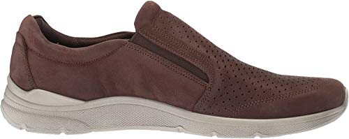 Ecco Herren IRVING Slip On Sneaker, Braun (Coffee 2072), 43 EU