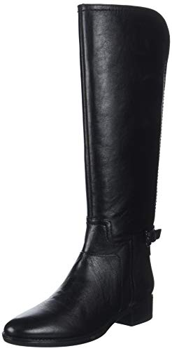 Geox Damen D Felicity B Hohe Stiefel, Schwarz (Black C9999), 39 EU