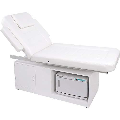 012102 Massageliege Wellnessliege mit Handtuchwärmer