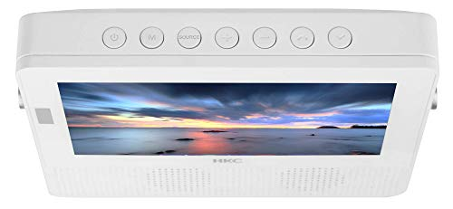 HKC 16M4H TV PEQUEÑA (16 Pulgadas) TV LED (Full HD, sintonizador Triple, Ci +, Mediaplayer USB 2.0, Cargador de Coche de 12V) [Clase de energía A +] miniatura