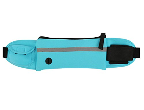 Multifonctionnel Sac de sport en plein air Fitness Backpack Courir Pocket, BLEU