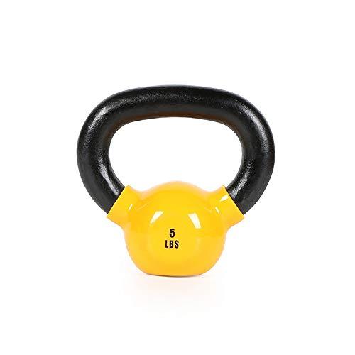 Kettlebell, Attrezzature Sportive in Ferro, Sollevamento Pesi, Manubri Allenamento for La Forza, La Perdita di Peso Fitness, Attrezzature Home Fitness, 5LB, 4/6/8/10/12/14 / 16KG