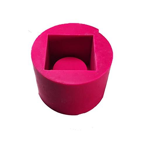 Kaixin Silikon Kerzenform, Silikonkerzenherstellung Silikonseifenform Silikon Teelichthalter Form Silikon Kerzenhalter Form für Kuchen Dekoration Schokoladenkerzen Seife Herstellung Handwerksform