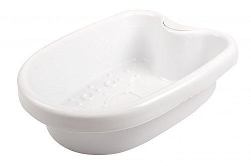 BioEnergiser Fuß-Wanne Oval für Fußpflege Fußbad I Massage-Becken für Fußelektrolyse-Bad I Wanne für Ion Cleanser Fußbad I Schüssel für Ionisches Fuß-Bad I Footspa Bath I Feet-Detox Cleanser