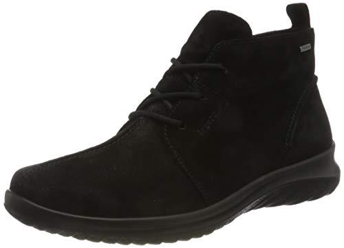 Legero Damen SOFTBOOT 4.0 leicht gefütterte Gore-Tex Sneaker, SCHWARZ 0000, 37.5 M EU