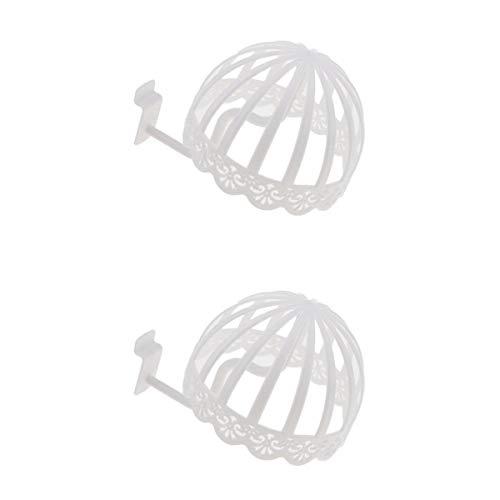 Fenteer 2pcs Rétro Support Etagère Chapeau Bébé - Display Stand Perruque Casquette