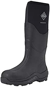 Muck Boots - Botas de Agua Muckmaster Hi para Adultos Unisex (46 EU) (Negro)