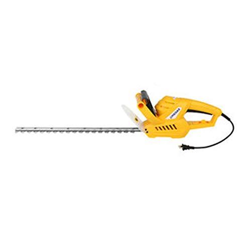 Maniny Recortadora de setos de batería (con juerga + Cable, Cuchilla de Doble Acción,Diámetro de Corte: 16/20mm, Corte por Minuto: 1600 min)