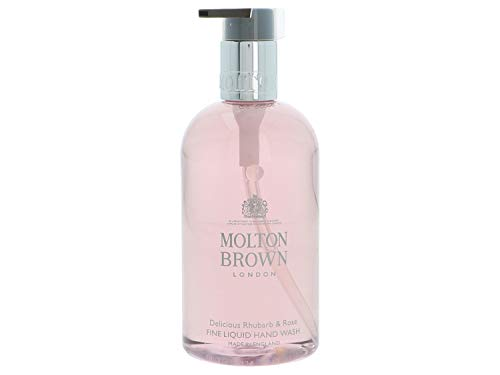 Molton Brown Fine Liquid Hand Wash, Delicious Rhubarb & Rose, 10 Fl oz