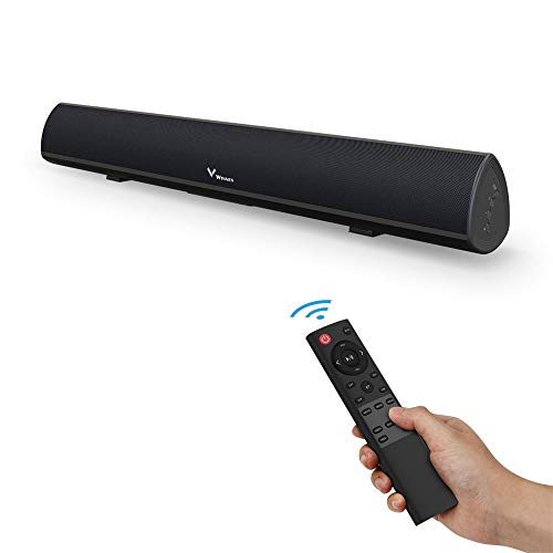 KUCE Barra de Sonido 2.0 Canales,Altavoces de TV Bluetooth 5.0 con Cable...