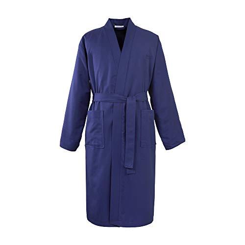 Hugo Boss BOSS, Kimono Pique, Navy, XL