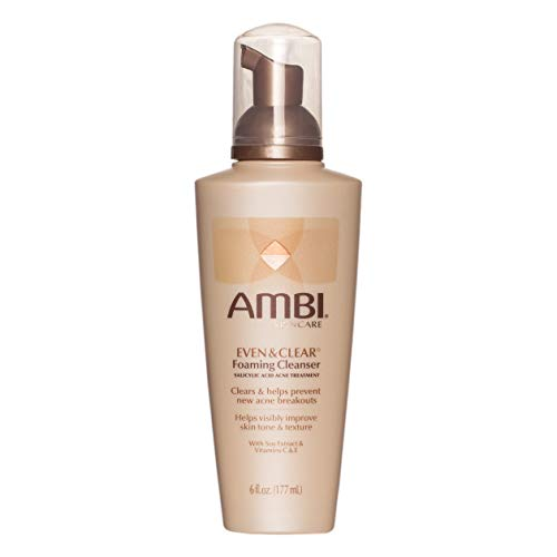 Ambi Even and Clear Foaming Facial Cleanser