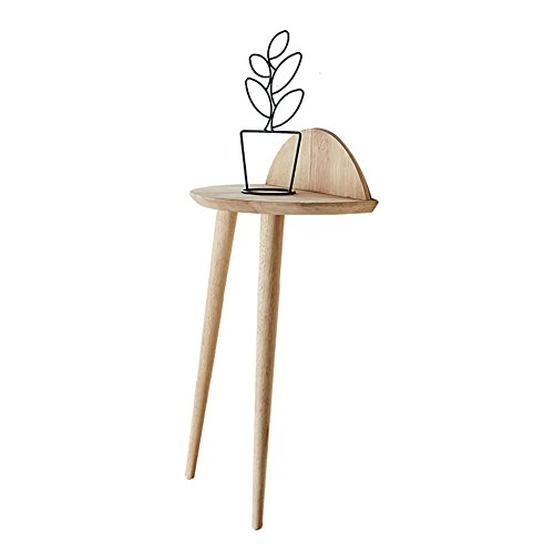 Table d'Appoint Murale en Chêne Table d'Appoint Table d'Appoint Rome Console Console d'Appoint Table d'Appoint ( Couleur : Burlywood , taille : Height 86cm )