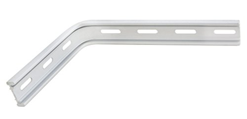 Lot de 2 /équerre emboutie 330 x 500 mm blanc support /étag/ère lourde charge solide haute capacit/é de charge IB-Style
