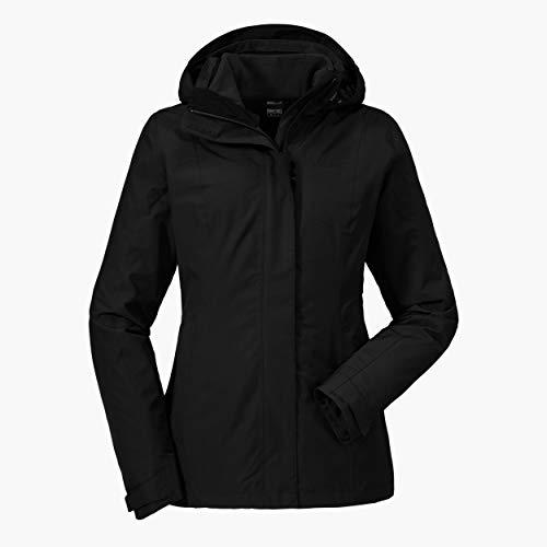 Schöffel Damen 3in1 Tignes1 Jacke, black, 40