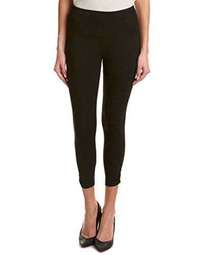 Lysse Ruched Crop Leggings 1517 Black - XS