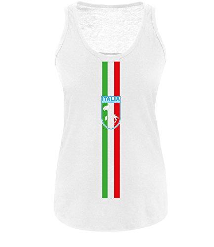 Luckja EM 2016 Trikot Italien Fanshirt EM04 Damen Tanktop