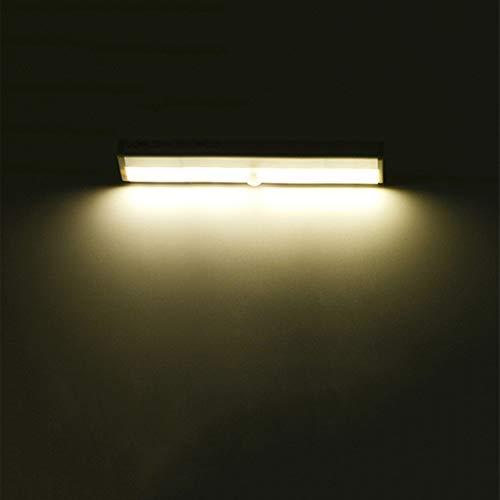 DQM Stick-On waar de lichten van de kast, draadloos, bewegingsmelder, kunnen in een kast, lade, kast of in elke andere Luogo Buio worden geplaatst.