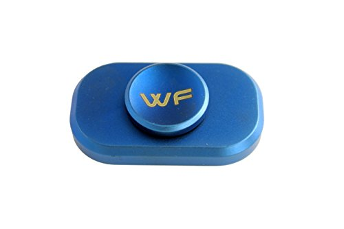 WeFidget Original The Bar Premium Hand Spinner, Designed for Stress and Anxiety Relief. (Blue)