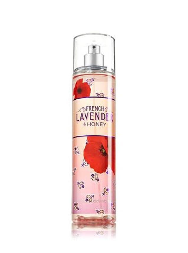 バスケットボール気づくなる通り抜ける【Bath&Body Works/バス&ボディワークス】 ファインフレグランスミスト フレンチラベンダー&ハニー Fine Fragrance Mist French Lavender & Honey 8oz (236ml) [並行輸入品]