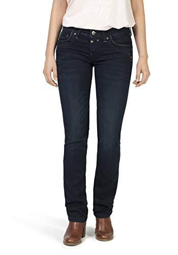 Timezone Damen TahilaTZ Straight Jeans, Blau (Noble Blue Wash 3787), 30W /34L