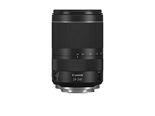 Canon RF 24-240mm f/4-6.3 IS Nano USM - Objetivo para cámara (Longitud Focal de 24 a 240 mm, Enfoque Nano USM, estabilizador de Imagen de 5 Pasos) Negro
