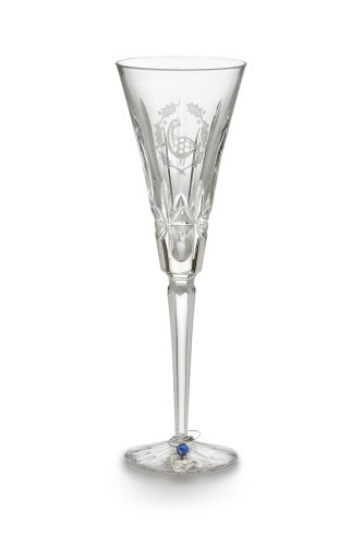 Waterford Crystal - Days of Christmas - Six Geese A-Laying Champagne Glass