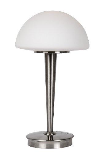 Lucide TOUCH - Tischlampe - Ø 23 cm - 1xE14 - 3 StepDim - Chrom Matt
