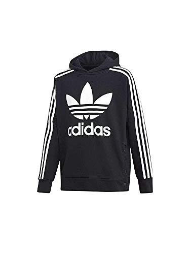 adidas Jungen J Adibreak Top Sweatshirt, Schwarz (Black/White), 128 (7/8 Jahre)