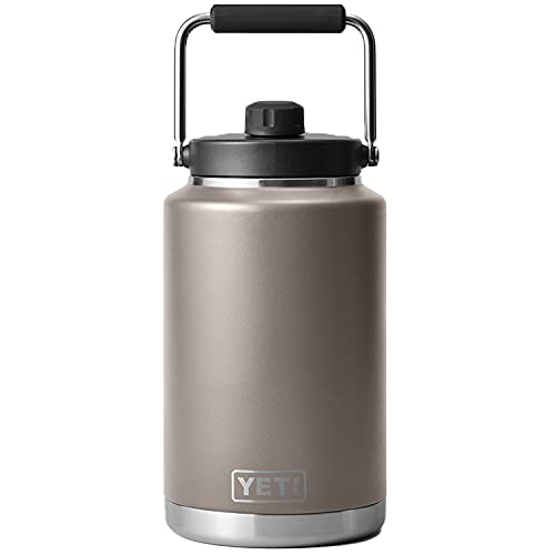 YETI Rambler Gallon Jug, Vacuum Insulated, Stainless Steel with MagCap, Sharptail Taupe