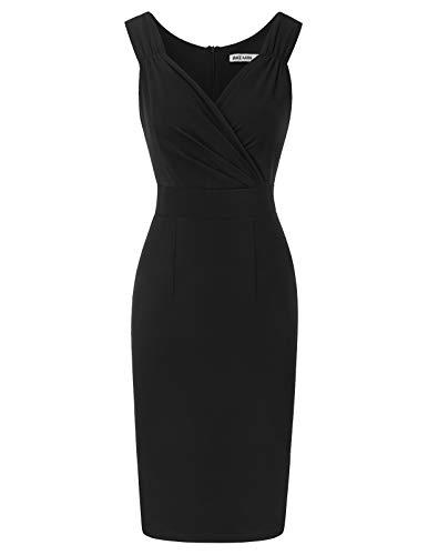 GRACE KARIN Rockabilly Kleid sexy Bodycon Kleid Sommer Business Kleider Damen CL2413-1 M