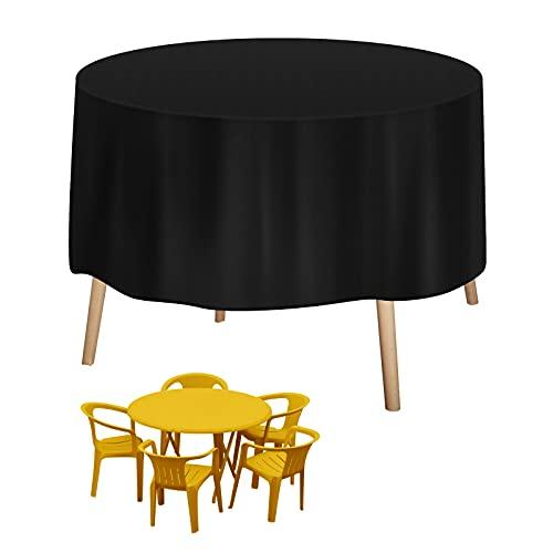 Fundas Muebles Jardín, Zorara Funda Protectora Muebles 420D Oxford Impermeable Cubierta de Exterior Resistente al Polvo para Sofa de Jardin, al Aire Libre, Mesa y Sillas (190*90 cm)