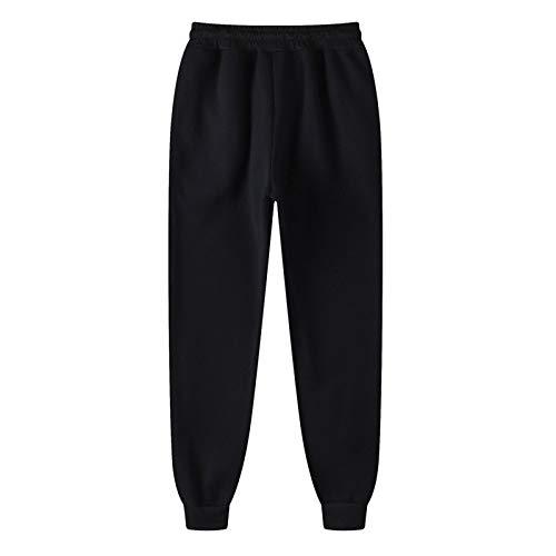 AFFGEQA Herren- und Damen Hose Jogginghose Hip-Hop-Hose Legging Padded Casual Pants