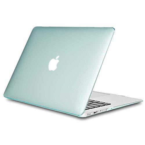 TECOOL Funda MacBook Air 13 (Versión: 2010-2017, Modelo: A1466 / A1369), Delgado Cubierta de Plástico Dura Case Carcasa...